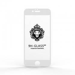 Защитное стекло Glass 9H iPhone 6 White