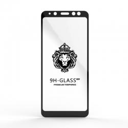 Захисне скло Glass 9H Samsung A8 2018 (A530) Black