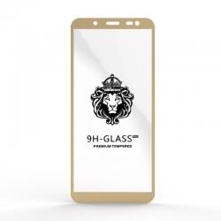 Захисне скло Glass 9H Samsung J600 J6 Gold