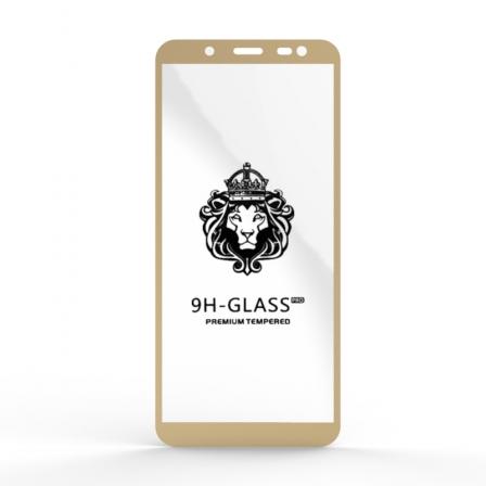 Защитное стекло Glass 9H Samsung J600 J6 Gold