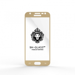 Захисне скло Glass 9H Samsung J330 J3 2017 Gold