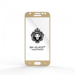 Защитное стекло Glass 9H Samsung J330 J3 2017 Gold