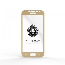 Защитное стекло Glass 9H Samsung J2 2018 (J250) Gold