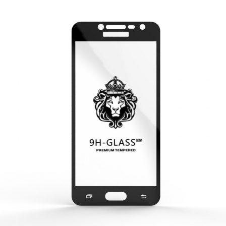 Защитное стекло Glass 9H Samsung J2 Prime DS VE 2018 Black