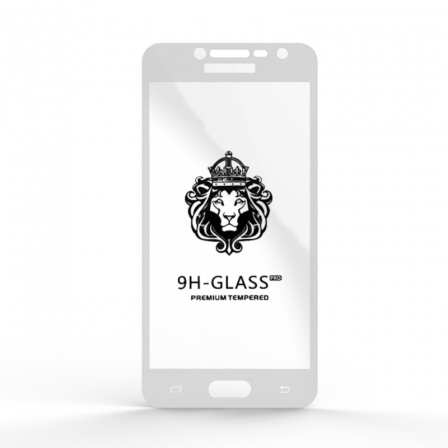 Защитное стекло Glass 9H Samsung J2 Prime DS VE 2018 White