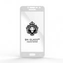 Защитное стекло Glass 9H Samsung J2 Prime DS VE 2018 White