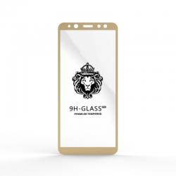 Защитное стекло Glass 9H Samsung A6 (A600) 2018 Gold