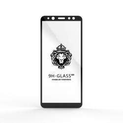 Защитное стекло Glass 9H Samsung A6 (A600) 2018 Black