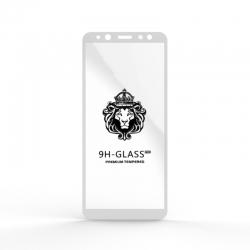 Защитное стекло Glass 9H Samsung A6 (A600) 2018 White