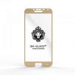 Захисне скло Glass 9H Samsung J4 (J400) Gold