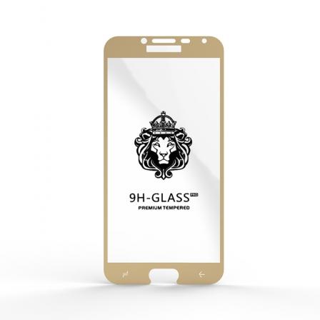 Защитное стекло Glass 9H Samsung J4 (J400) Gold