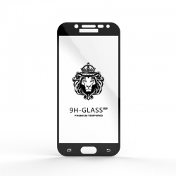 Защитное стекло Glass 9H Samsung J730 J7 2017 Black
