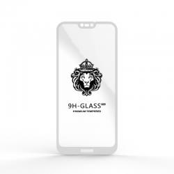 Защитное стекло Glass 9H Huawei P20 Lite (Nova 3E) White
