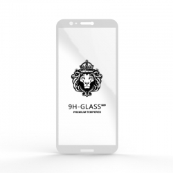 Защитное стекло Glass 9H Huawei P Smart (Enjoy 7S) White