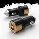 Автомобильное зарядное устройство Metal FAST 3.1A Black
