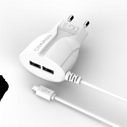 Сетевое зарядное устройство Trapez White
