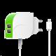 Сетевое зарядное устройство List White-Green