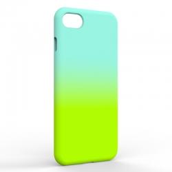 Чехол-накладка Iphone 7/8 Gradient Blue-Green