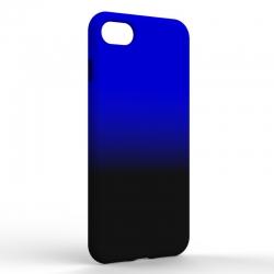 Чехол-накладка Iphone 7/8 Gradient Black-Blue