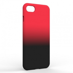 Чехол-накладка Iphone 7/8 Gradient Red-Black