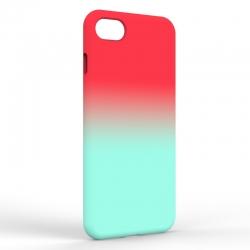 Чехол-накладка Iphone 7/8 Gradient Red-Blue