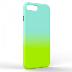Чехол-накладка Iphone 7/8 Plus Gradient Blue-Green