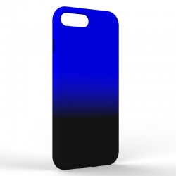 Чехол-накладка Iphone 7/8 Plus Gradient Black-Blue