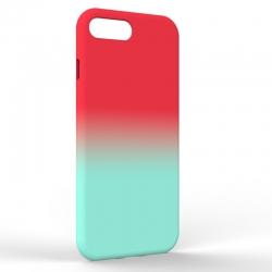 Чехол-накладка Iphone 7/8 Plus Gradient Red-Blue