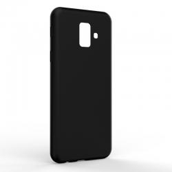Чехол-накладка Samsung A6 2018 Monochromatic Black