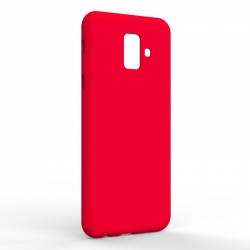 Чехол-накладка Samsung A6 2018 Monochromatic Red