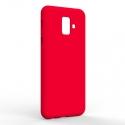 Чехол-накладка Samsung A6 2018 Monochromatic Red