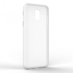 Чехол-накладка Samsung A6 2018 Monochromatic White