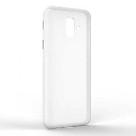 Чохол-накладка Samsung A6 2018 Monochromatic White