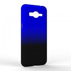 Чехол-накладка Samsung J2 2018 Gradient Black-Blue
