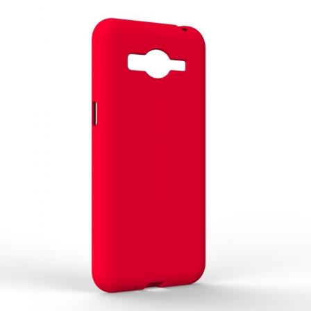 Чохол-накладка Samsung J2 2018 Monochromatic Red