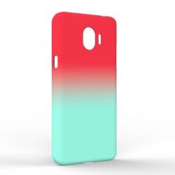 Чехол-накладка Samsung J2 2018 Gradient Red-Blue