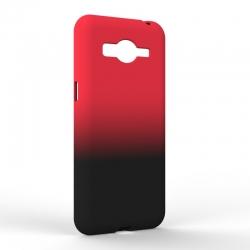 Чехол-накладка Samsung J2 2018 Gradient Red-Black