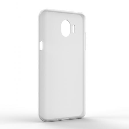 Чехол-накладка Samsung J2 2018 Monochromatic White