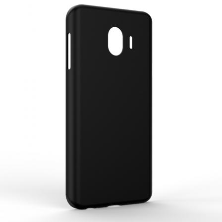 Чехол-накладка Samsung J4 2018 Monochromatic Black