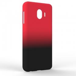 Чехол-накладка Samsung J4 J400 Gradient Red-Black