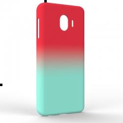 Чехол-накладка Samsung J4 J400 Gradient Red-Blue