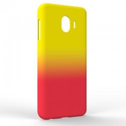 Чехол-накладка Samsung J4 J400 Gradient Yellow-Red