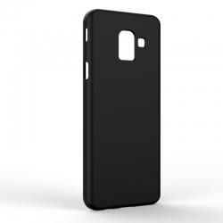 Чехол-накладка Samsung J6 J600 Monochromatic Black