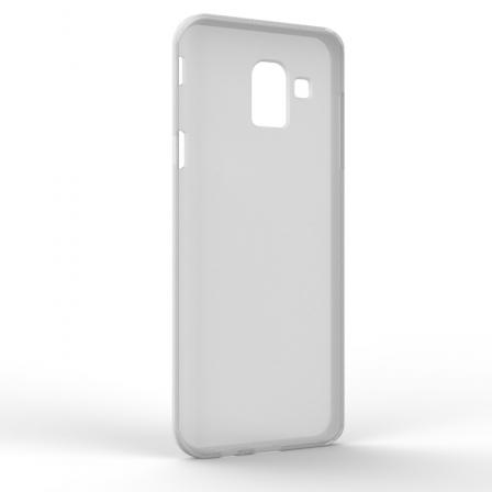 Чохол-накладка Samsung J6 J600 Monochromatic White