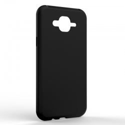 Чехол-накладка Samsung J7 2017 Monochromatic Black