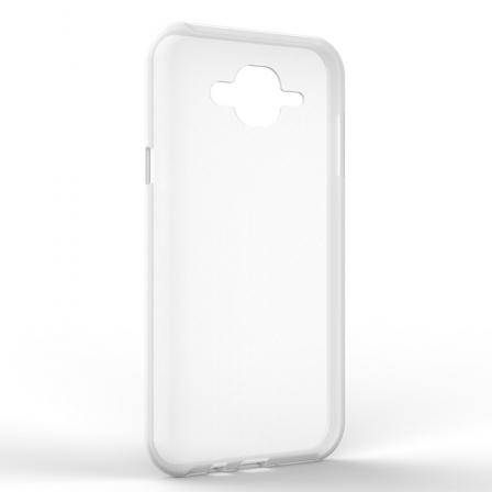 Чехол-накладка Samsung J7 NEO Monochromatic White