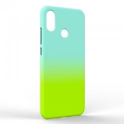 Чехол-накладка Xiaomi A2 Gradient Blue-Green