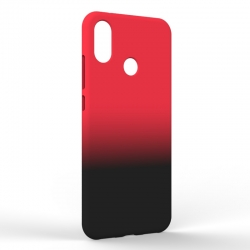 Чехол-накладка Xiaomi A2 Gradient Red-Black