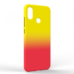 Чехол-накладка Xiaomi A2 Gradient Yellow-Red