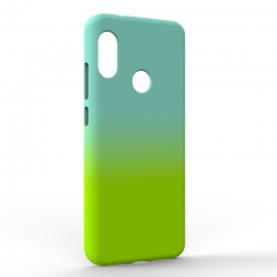 Чехол-накладка Xiaomi A2 Lite Gradient Blue-Green